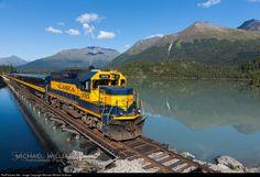 RailPictures.Net Photo: ARR 3015 Alaska Railroad EMD GP40-2 at Crown Point, Alaska by Michael William Sullivan