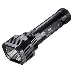 Find More Flashlights & Torches Information about Nitecore EAX Hammer CREE XM L2(T6) LED Flashlight   2000 Lumens   Uses 8 x AA   8 Mode,High Quality flashlight mobile,China flashlight lamp Suppliers, Cheap flashlight lumen from Outdoor Zeal Technology Co Ltd on Aliexpress.com