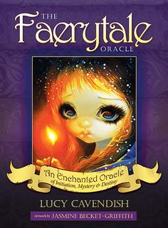 Blue Angel Publishing - The Faerytale Oracle - Lucy Cavendish - Artwork by Jasmine Becket-Griffith