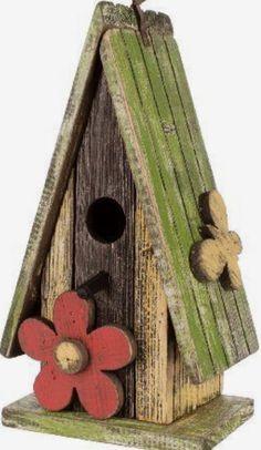 A frame style birdhouse.