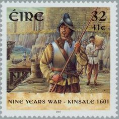 2001 Irlanda-Uniforme de Soldado en la Guerra de Kinsale de 1601
