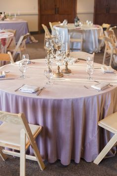 Dusty Rose Plush Velvet Floor Length Linen with Rose Martinique Napkins at Dayton Valley Country Club, shot by Amy K Graves Photography