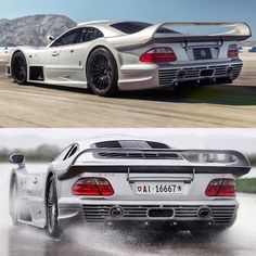 In the dry  or in the wet ? #ItsWhiteNoise #CLKGTR #TrackDayBro  @theonetruemo / @crazyteamvaudoise