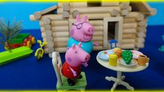 Peppa Pig in English. Peppa and her family move the house. Peppa Pig and...