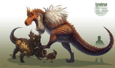 -Tyrantrum- by arvalis.deviantart.com on @deviantART