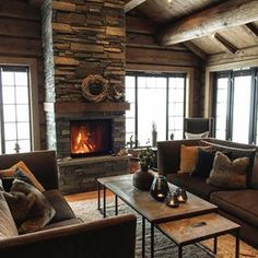 Image result for slettvoll hytte Cabin Chic, Cozy Cabin, Western Homes, Mountain Homes, Wooden House, Rustic, Interior Design, Sweet, Summer