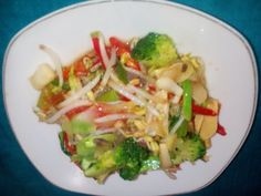 How to make sauteed broccoli with bean sprouts that delicious