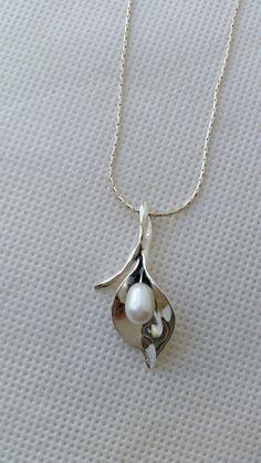 Bijoux pendentif en argent sterling 925 de perle  par TalyaDesign