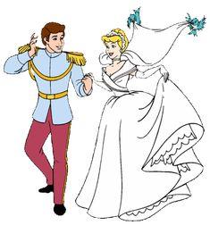 *PRINCE CHARMING & CINDERELLA ~ Cinderella, 1950 ~ WEDDING