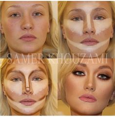 Contouring  highlighting is my favorite part of doing makeup.
