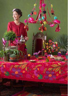 """Tischdecke """"Frida"""" aus Öko-Baumwolle 69213-31.jpg"""