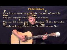 Red dress guitar chords die