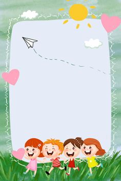 Growth Archives Children S Kindergarten Growth Archives Background Material Poster Background Design, Powerpoint Background Design, Kids Background, Baby Drawing, Drawing For Kids, Cute Wallpaper Backgrounds, Cute Wallpapers, Stick Figure Drawing, Birthday Frames