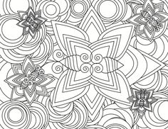 detailed coloring pages adults : Printable Coloring Sheet ~ Anbu ...