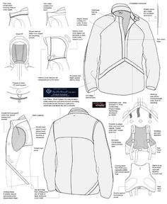 Flat / Cad Sketches & Line Sheets by Kim Honeycutt at