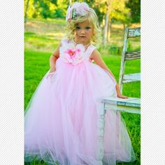These would be beautiful flower girl dresses
