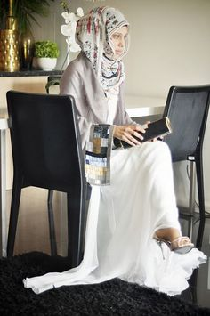 love her for repping the hijabi lifestyle and still looking fly!! #flawless
