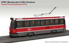 Toronto CLRV Streetcar (Tram) | This is the final revision t… | Flickr