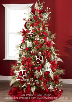 Raz Imports 2014 Christmas Tree Designs.