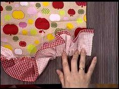 Como fazer um avental - 2da parte