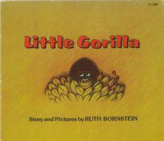 Gorilla Story, Barnyard Animals, Little Golden Books, Big Bird, Good Communication, Vintage Children's Books, Vintage Christmas Cards, Learn To Read, Childrens Books
