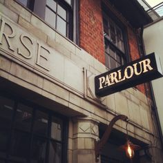 The sign at Parlour, NW10
