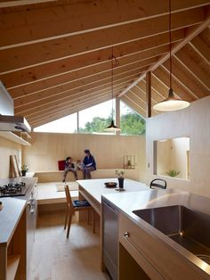 50 Ideas Home Dco Nordico Modern Japanese Interior, Japanese Modern House, Contemporary Interior, Interior Architecture Drawing, Architecture Design, Beautiful Architecture, Prefabricated Houses, Wood Interiors, Decoration Design