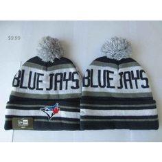 90d99ea43f4 MLB Toronto Blue Jays Knit Hat NE On Field Beanie Sale TBJ01