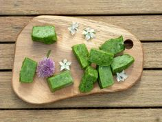 Chive flavour cubes, IBS recipe