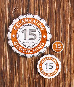 Have one of them coming! Show your Geocaching Pride and celebrate 15 Years of this amazing game of discovery, exploration and adventure! Geocaching, 15 Years, Discovery, Pride, Swag, Activities, Adventure, Sport, Game