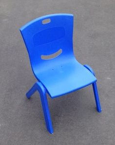 Royal Blue Child Chairs Suitable for ages Easily Stackable for transporting Kids Party Tables, Adjustable Height Table, Party Hire, Colorful Chairs, Little People, Table And Chairs, Your Child, Royal Blue, Colours