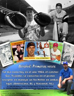 Gus Triandos, Philadelphia Phillies, Baltimore Orioles, MLB