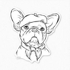 french bulldog drawing - Google otsing