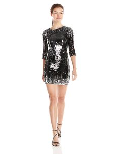 Hit the dance floor on NYE & channel your inner disco-queen in this flashy little number.