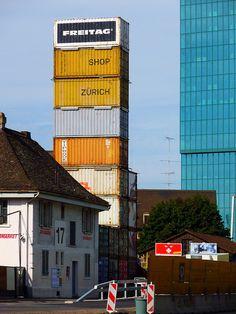 Freitag Flagship Store Zurich by asli aydin, via Flickr