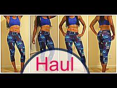 Fitness Clothing Haul-TJMax+Marshalls! I HangTight with MarC