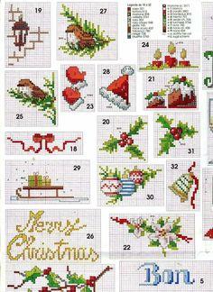 Mouseloft MINI KIT PUNTO CROCE-Colibrì stitchlets Collection