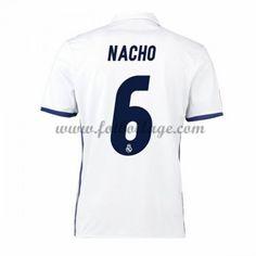 Fotbollströjor Real Madrid 2016-17 Nacho 6 Hemmatröja