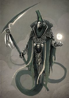 Plague Lich by ~funkychinaman on deviantART