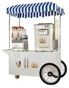 """Exceptional """"best serving cart"""" info is readily available on our site. Have a look and you wont be sorry you did. Ice Cream Cart, Ice Cream Maker, Food Cart Franchise, Soft Serve Machine, Food Cart Design, Sweet Carts, Salt And Ice, Best Food Trucks, Kiosk Design"""