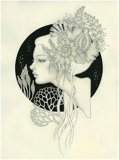 I'm in love with anything Audrey Kawasaki draws or paints. Can't decide which one to get, decisions, decisions!