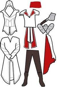 Resultado de imagen de Assassin's Creed Hoodie Pattern