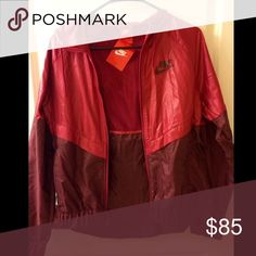 NWT Nike Windbreaker Jacket NWT hooded windrunner jacket from Nike in size small. Sold out online and in most stores. Not interested in trading. I am open to lower offers as long as they're reasonable. If you have any questions just ask :) Nike Jackets & Coats