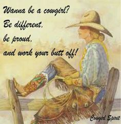 Proud Cowgirl!