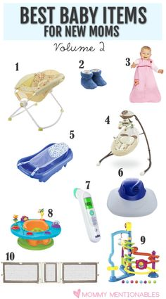 Top Best Baby Products For New Moms