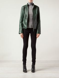 Green Leather Jackets, Blue, Style, Fashion, Swag, Moda, Fashion Styles, Fashion Illustrations, Outfits