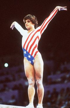 Star-spangled Mary Lou Retton - classic.