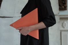 mhulot bag #clutch #triangle