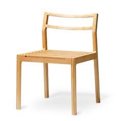TEORI/TENSION アーム無 42000yen エコ素材「竹」のしなりで心地よい座り心地を実現したチェア