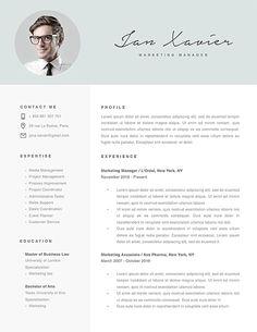 Cv Template Editable 1 Cv Template Best Resume